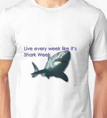 30 Rock - Shark Week Unisex T-Shirt