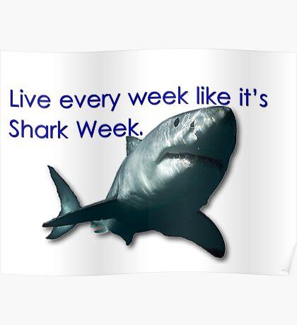 30 Rock - Shark Week Poster