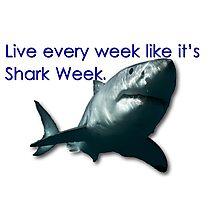 30 Rock - Shark Week Photographic Print