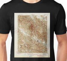 USGS TOPO Map California CA Calistoga 296981 1945 62500 geo Unisex T-Shirt
