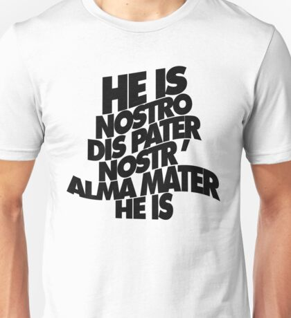 HE IS - solid black Unisex T-Shirt