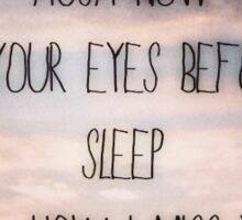 Ed Sheeran lyrics - Autumn Leaves Sticker