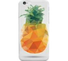 Geometric polygonal fruit, triangles, pineapple iPhone Case/Skin