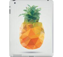 Geometric polygonal fruit, triangles, pineapple iPad Case/Skin