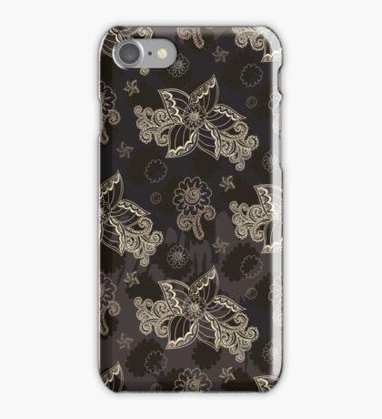 Coffee flowers iPhone Case/Skin