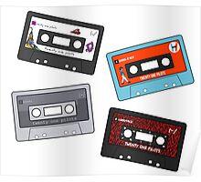Twenty One Pilots Cassettes Poster