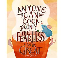 Anyone Can Cook Photographic Print