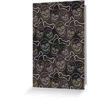 Evil skulls Greeting Card