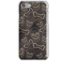 Evil skulls iPhone Case/Skin