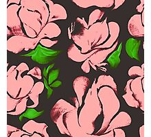 Flower acrylic pattern pink Photographic Print