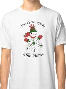 Cute Snowflake Snowman Classic T-Shirt