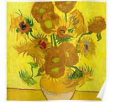 Sunflowers, Vincent van Gogh Poster