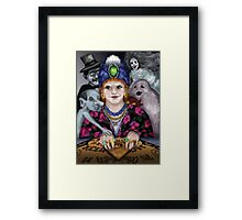 Madame Lovina's Haunted Talking Board Framed Print