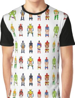Superhero Butts LV Graphic T-Shirt