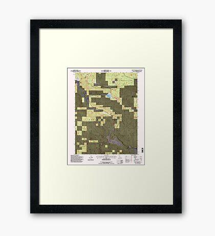 USGS TOPO Map California CA Childs Meadows 100177 1995 24000 geo Framed Print