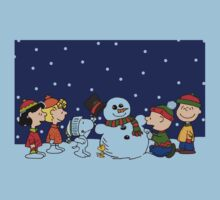 IT'S A CHARLIE BROWN CHRISTMAS One Piece - Short Sleeve