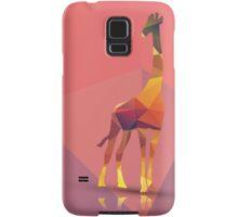 Geometric polygonal giraffe, pattern design Samsung Galaxy Case/Skin