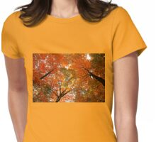 Autumn Party Womens Fitted T-Shirt