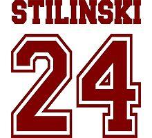 Stilinski 24, Stiles stilinski - Maroon 1 Photographic Print