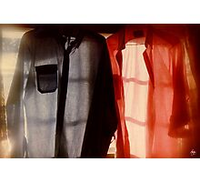 Two Shirts in a Window, Study Number 1 Photographic Print