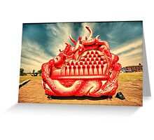 2016 Sculpture by the Sea 11 Greeting Card