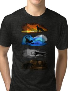 Warrior Cats: Four Elements, Four Clans Tri-blend T-Shirt