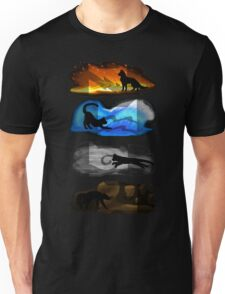 Warrior Cats: Four Elements, Four Clans Unisex T-Shirt