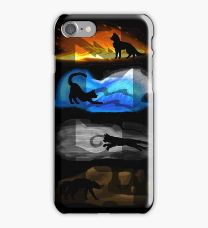 Warrior Cats: Four Elements, Four Clans iPhone Case/Skin