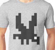Mini Pixel Black Bird 2 Unisex T-Shirt