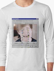 Luke Crying Long Sleeve T-Shirt
