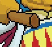 Pixel DDD Sticker