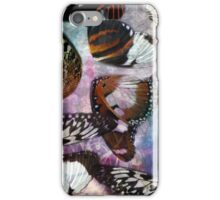 Abstract Watercolor Butterfly Wing Collage iPhone Case/Skin
