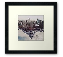 Contradiction Framed Print