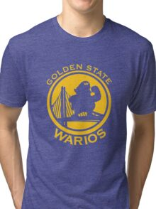 GOLDEN STATE WARIOS Tri-blend T-Shirt