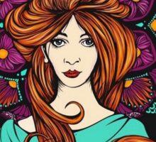 Lady Mandala I Sticker