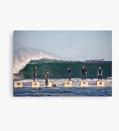 King Tide Canvas Print