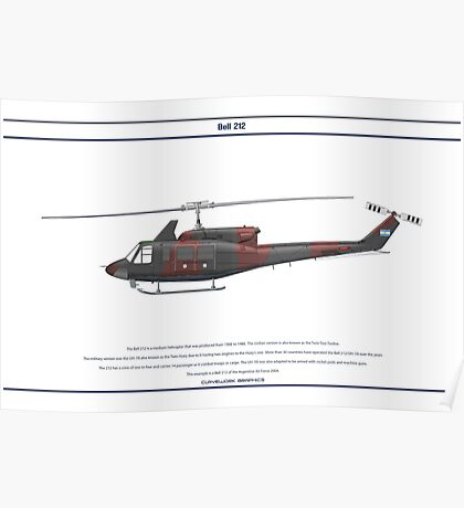 Bell 212 Argentina 1 Poster