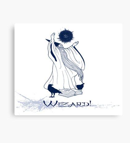 Wizard!!! Canvas Print