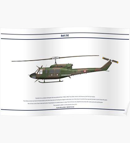 Bell 212 Austria 1 Poster