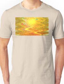 Goldenrod Waves Unisex T-Shirt
