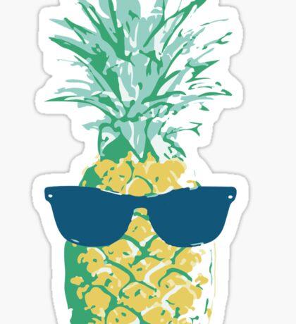 Pineapple Shades Sticker