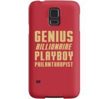Genius Billionaire Playboy Philanthropist Samsung Galaxy Case/Skin