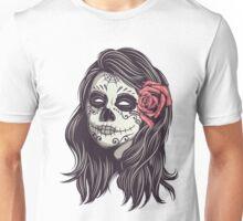 Sugar Skull Bride Unisex T-Shirt