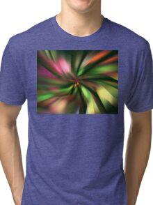 Green Petals Tri-blend T-Shirt