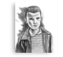 11 Canvas Print
