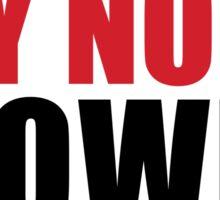 SAY NO TO CLOWNS Sticker