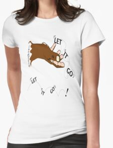 Let It Go~(C) 2014 LMG Womens Fitted T-Shirt