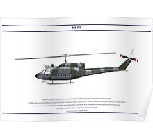 Bell 212 Canada 1 Poster