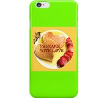 pancake valentines iPhone Case/Skin