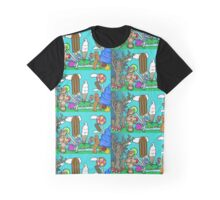 """Dorothy And Tik Tok In Candyland of Oz"" Graphic T-Shirt"